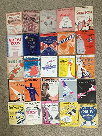 SHEET MUSIC SPECIAL MOVIE MUSIC COLLECTION LOT (SHSP17
