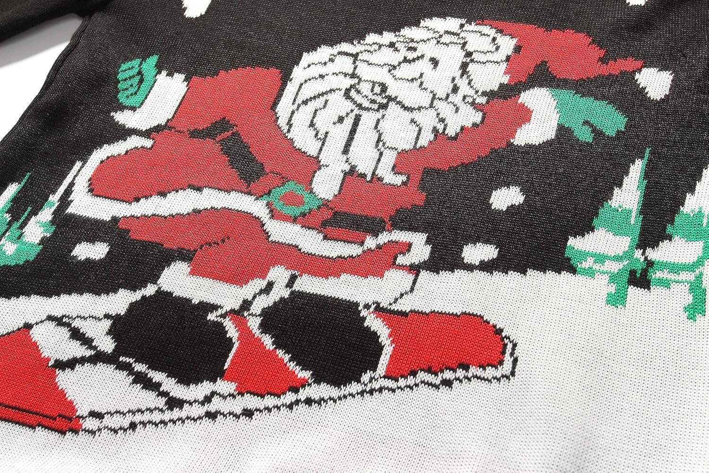 SSLR Big Boys Funny Crewneck Pullover Ugly Christmas Sweater