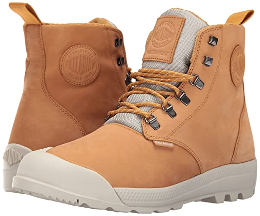 Amazon.com: Palladium Men's Pampatech Hi Lea WP Rain Boot: Palladium: Shoes