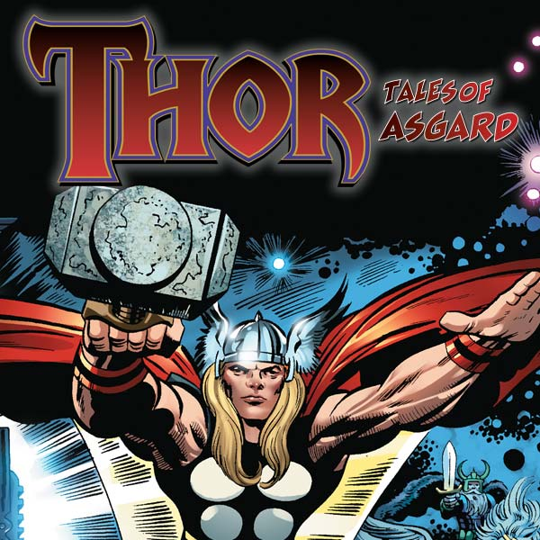 Thor: Tales Of Asgard by Stan Lee & Jack Kirby (2009) (Issues) (6 Book Series)
