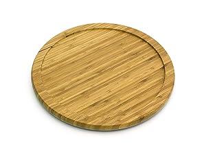 "Lipper International 8301 Bamboo Wood 10"" Kitchen Turntable"