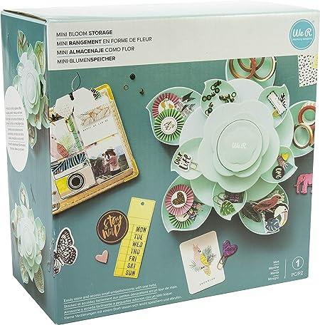 We R Memory Keepers 0633356605652 Bloom Storage & Decor-Mini-Mint: Amazon.es: Hogar