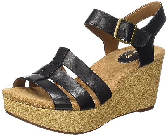 Clarks Sandalen mit Keilabsatz