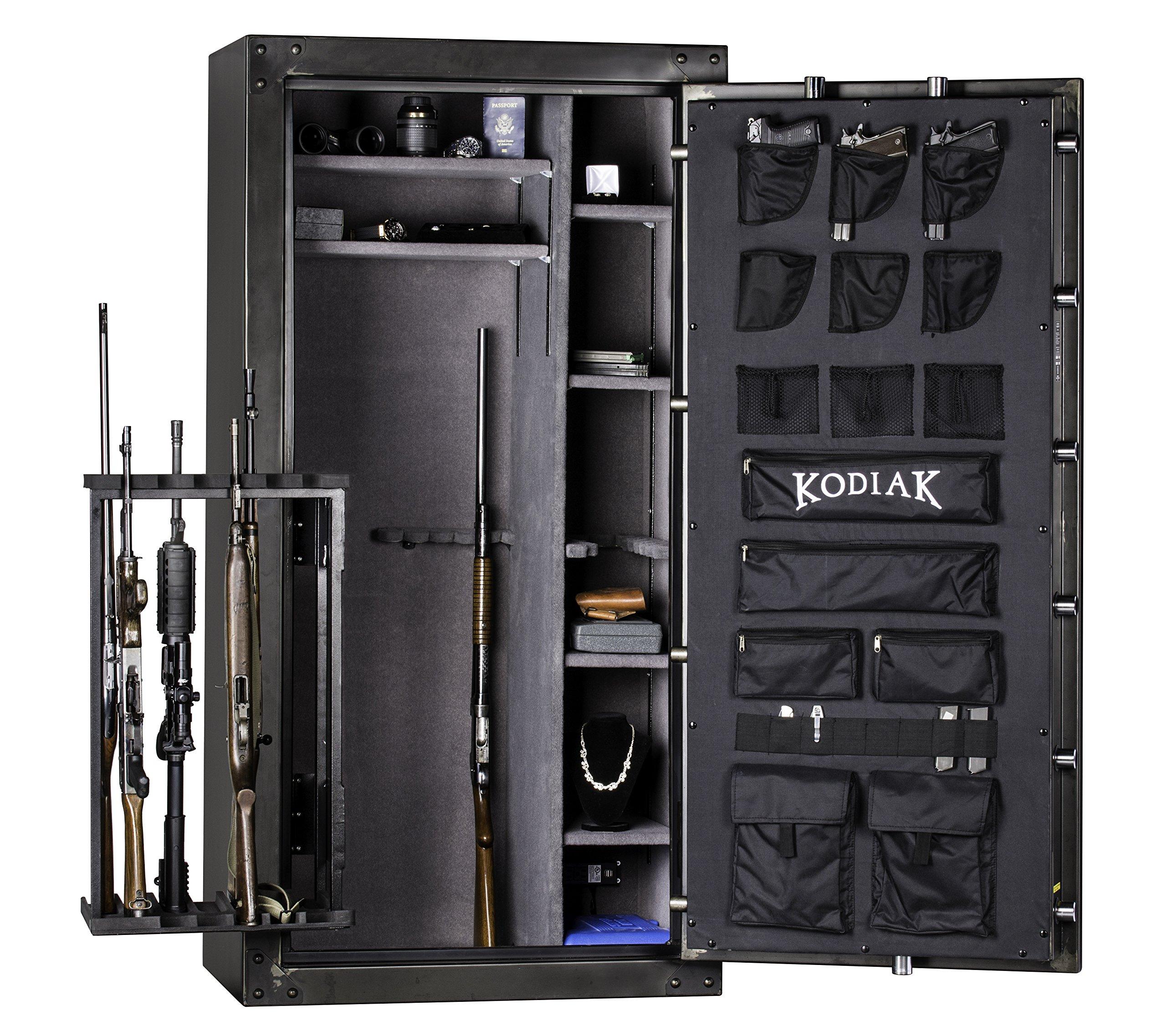 Rhino Safe Deluxe Door Organizer, Fits Bighorn & Kodiak Gun Safes (Small) by RHINO SAFE CO.