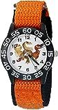 Disney Kids' W002211 Ramsey,Butch and Nash Analog Display Analog Quartz Orange Watch