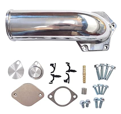 EGR Kit Polished Ford 6.4l Powerstroke Turbo Diesel 2008-2010