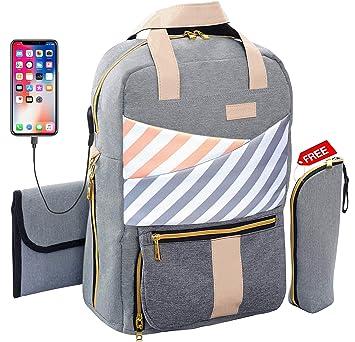 Backpack Diaper Bag for Toddler – Super Diaper Changing Bag - Mommy Backpack - Convertible Diaper