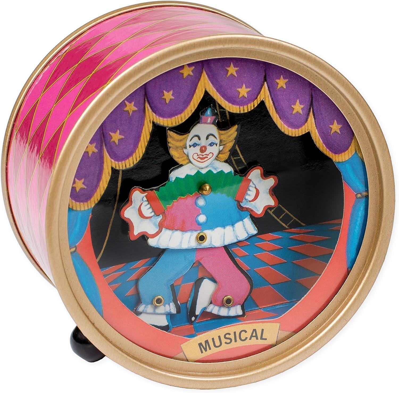 "/""Send In The Clowns/"" Musical Unicorn /& Clown Figurine"