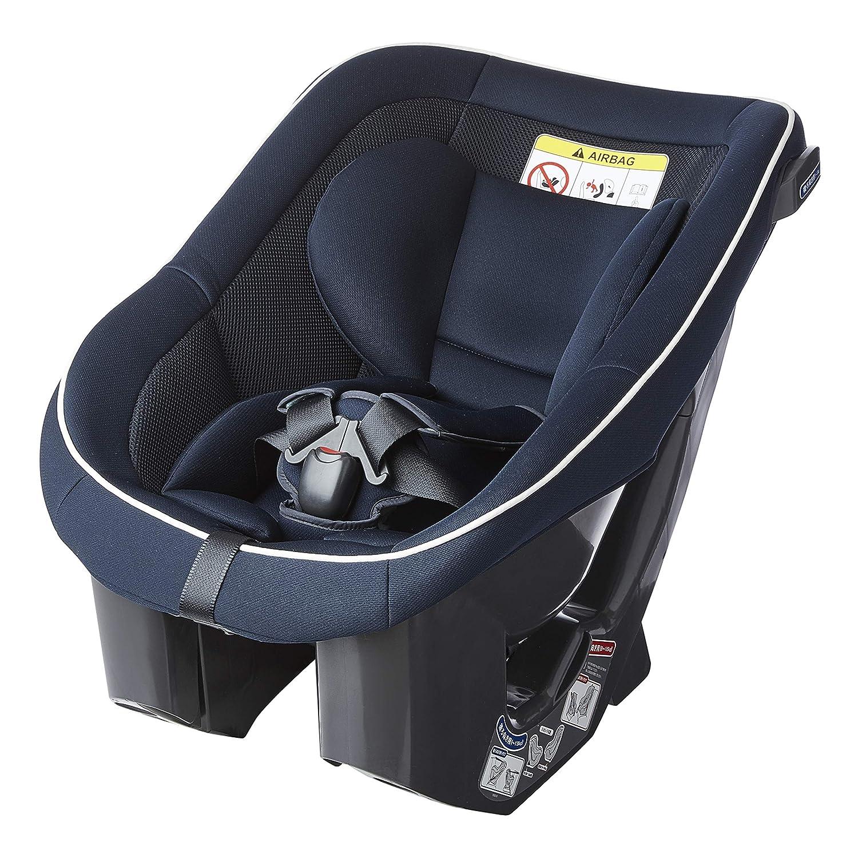 【限定】 Child Guard(チャイルドガード) シートベルト固定 タカタ04 ビーンズ シートベルト 固定 チャイルドシート (0~4 歳向け) ネイビーホワイト 0か月~ (1年保証) TKAMZ003  ネイビーホワイト B077D96G4G
