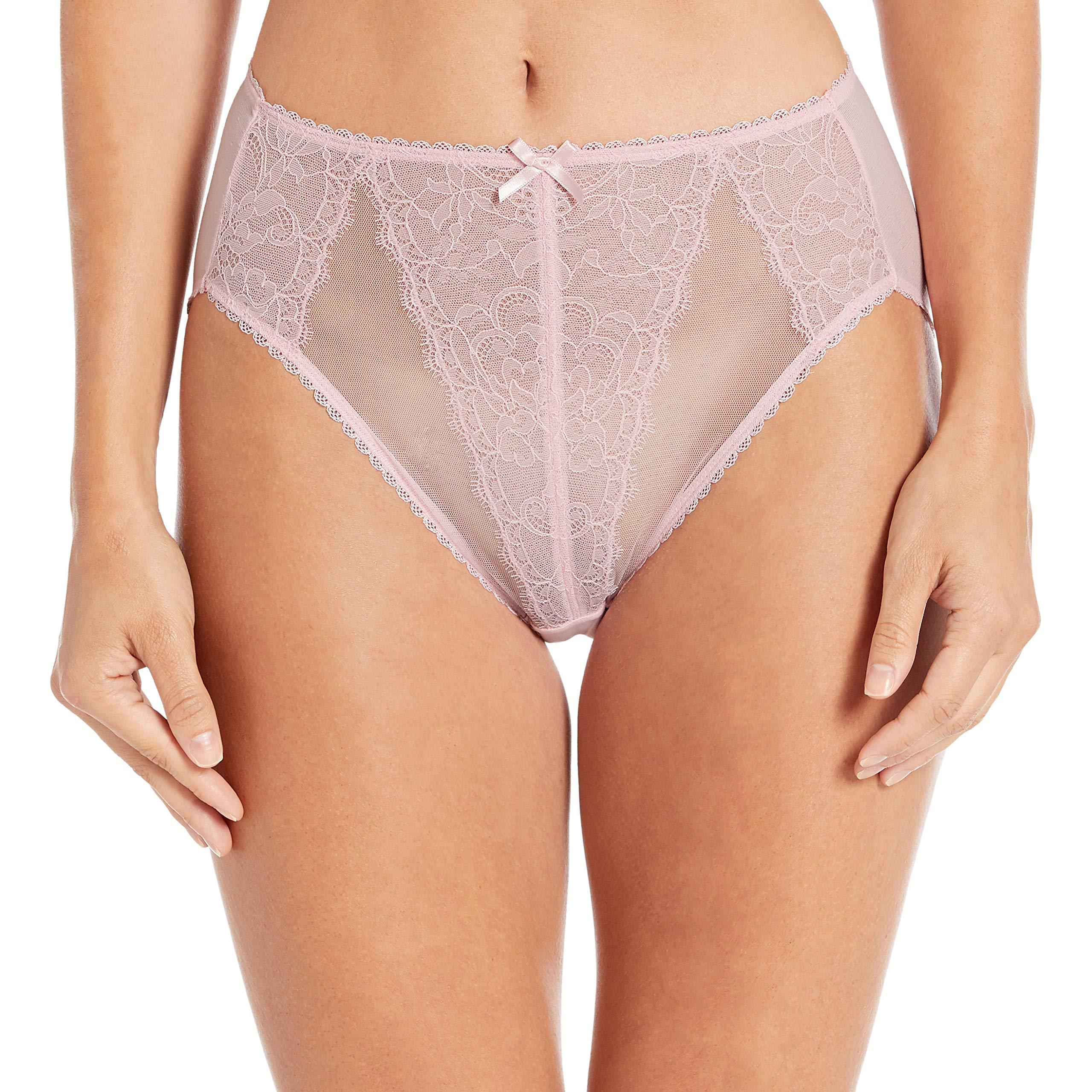 Wacoal 841186 Retro Chic Hi-Cut Panty Very Violet MED LARGE XL Free Shipping