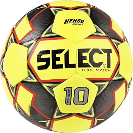 Select Numero 10 Match Turf - Balón de fútbol, Color Amarillo ...