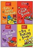 Ella's Kitchen Cookbook Collection 4 Books Set ( Ella's Kitchen The First Foods Book The Purple One, Ella's Kitchen The Easy Family Cookbook, Ella's Kitchen The Cookbook The Red One, Ella's Kitchen The Big Baking Book)