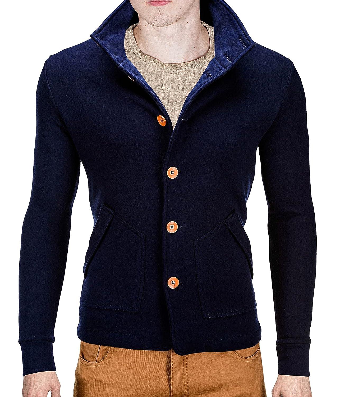 BetterStylz Camaron Bluoson Men'S Sweat Jacket Casual Slim Fit Jacket - 4 colours (S-XL)