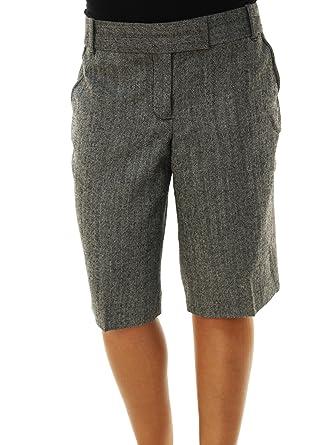 J Crew Women's Knee Length Casual Dress Shorts Grey at Amazon ...