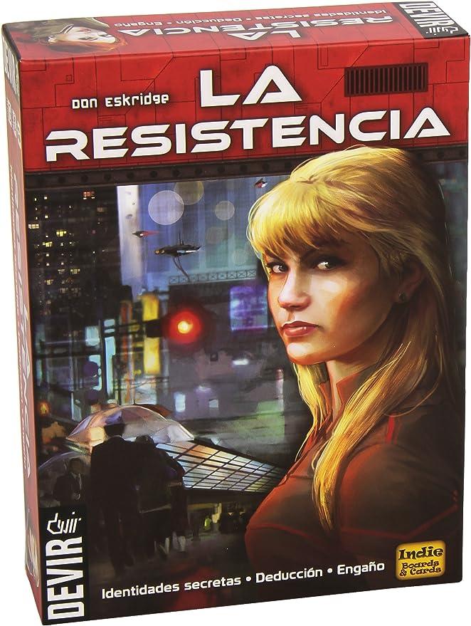 Devir- Juego de Mesa La Resistencia, Miscelanea (25197): Amazon.es: Juguetes y juegos
