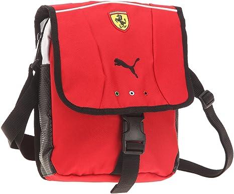 55a9683947 Puma 070038 02 - Borsa a tracolla Ferrari Replica Portable, 20 x 24 x 7