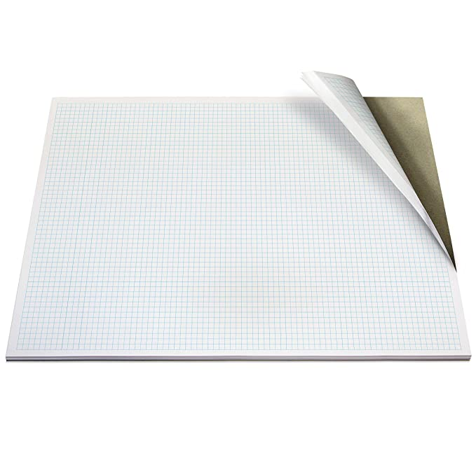 Amazon.com: milimetrado, cuadrícula, 50 hojas (100 páginas ...