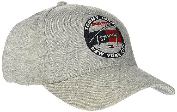 Tommy Hilfiger TJM Heritage Embroidery Cap Gorra de béisbol, Gris ...
