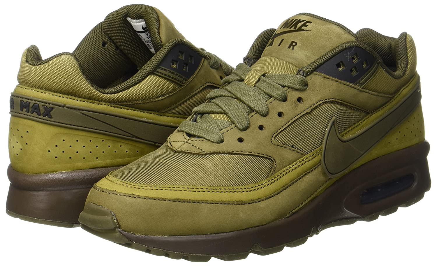 reputable site 609da b009e Nike AIR MAX BW Premium - Trainers, Men, Green - (Dark Loden/Dark  Loden-Olive Flak-Black), 40: Amazon.co.uk: Shoes & Bags