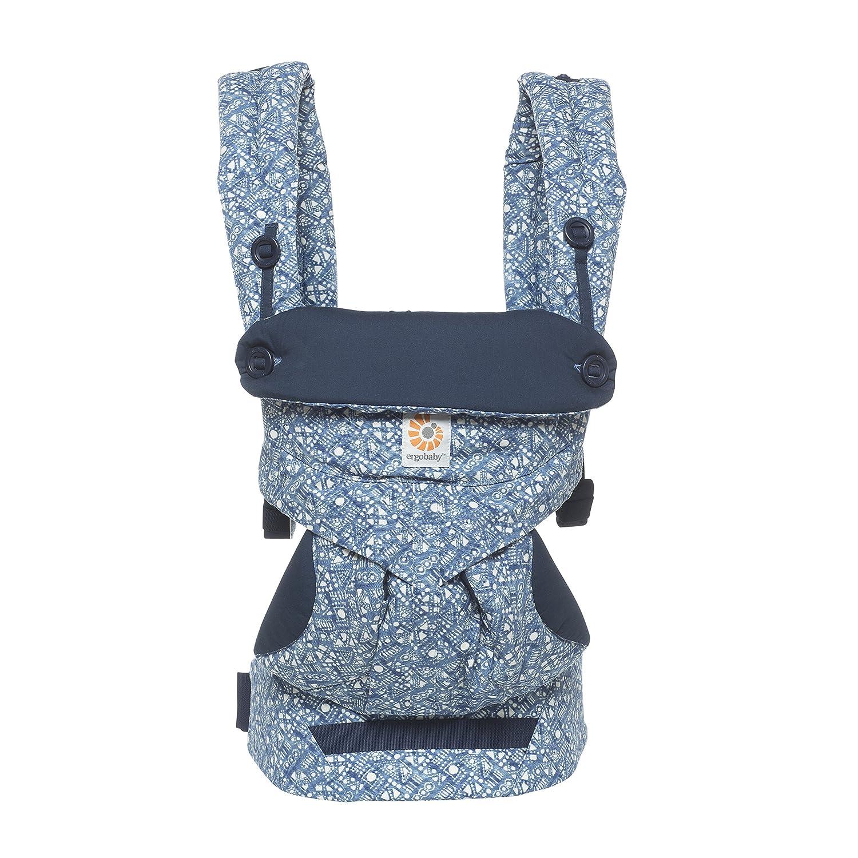 Ergonomische Baby Bauchtrage R/ückentrage Ergobaby Babytrage Sommer Kleinkind bis 3 Jahre Cool Air Khaki Green 360 atmungsaktiv 5.5 bis 20 kg