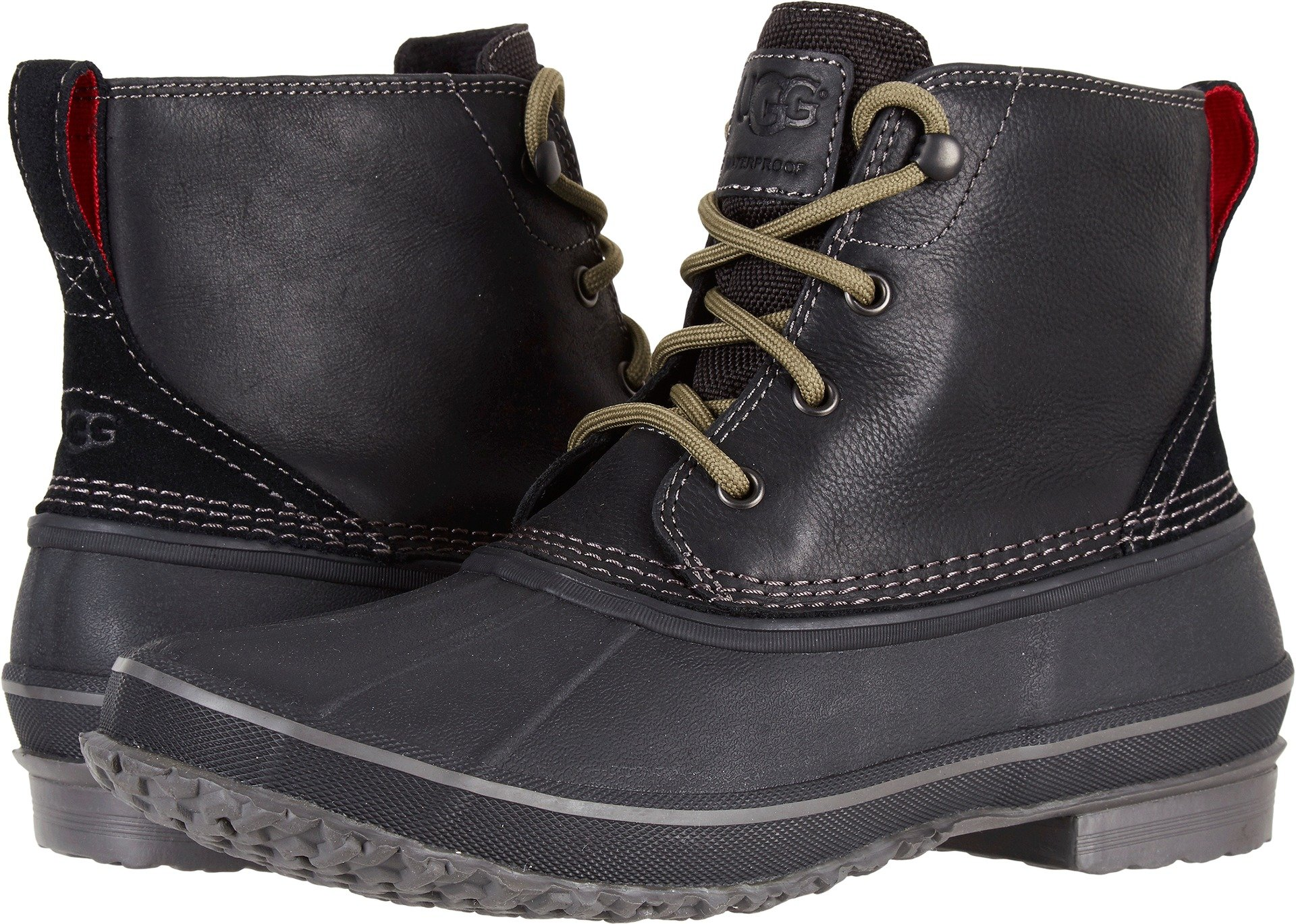 UGG Men's Zetik Winter Boot, Black, 14 M US by UGG