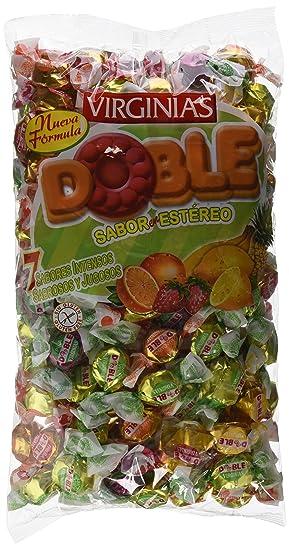 Virginias - Doble - Surtido de caramelos de dos piezas con sabor de frutas - 930