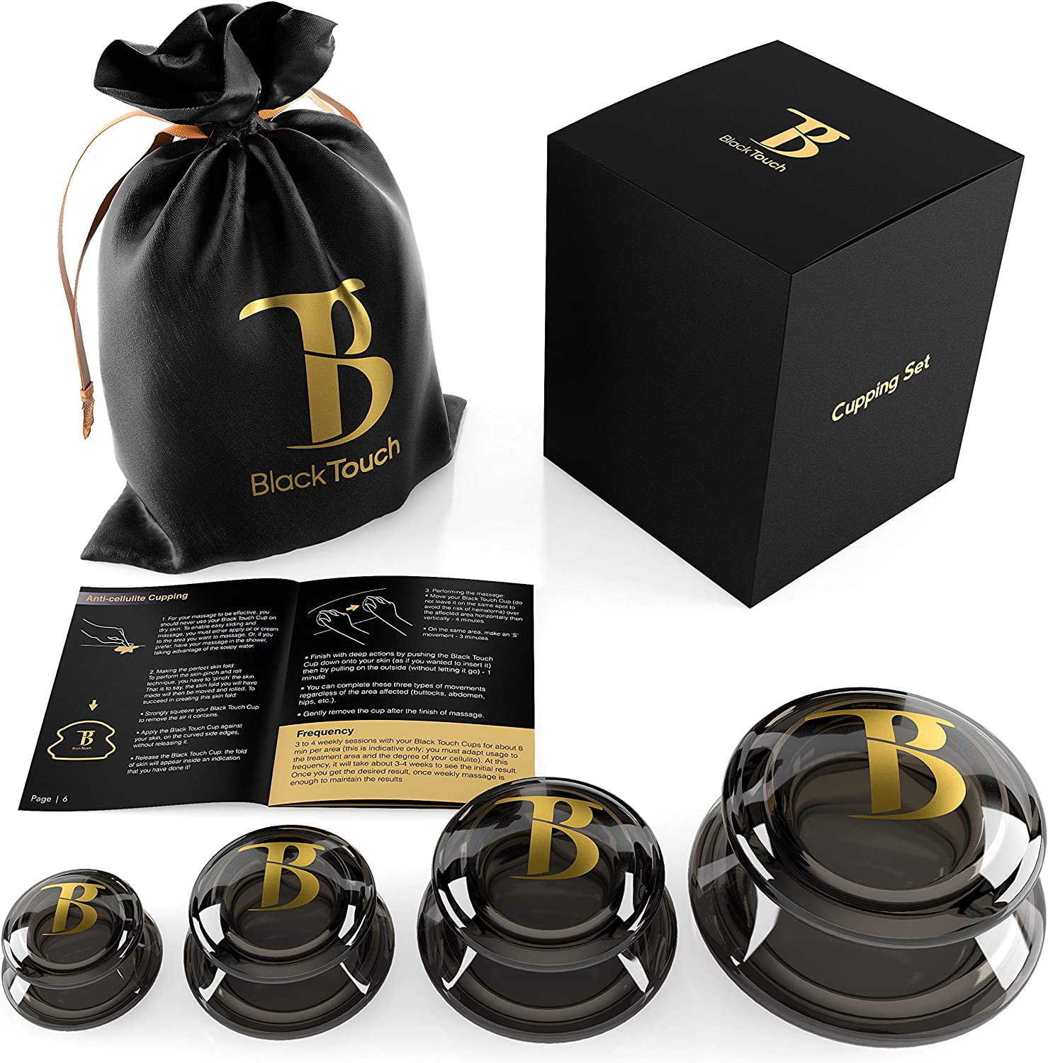 Cupping Therapy Set by BlackTouch