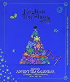 English Tea Shop Organic Book Style Advent Calendar Tea Bags, 25-Count