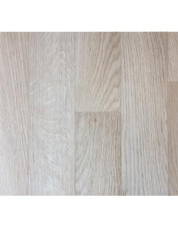 PVC-Belag verf/ügbar in der Breite 3 m /& in der L/änge 6,5 m PVC Vinyl-Bodenbelag in gebleichtem Grau CV-Boden wird in ben/ötigter Gr/ö/ße als Meterware geliefert rutschhemmend