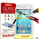 Samsung Galaxy S3 MINI i8190 Tempered Glass Crystal Clear LCD Screen Protector Guard & Polishing Cloth GSVL37 BY SHUKAN®, (SG S3 Mini)