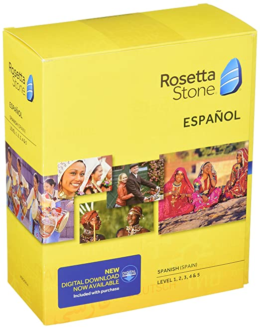 Amazon com: Learn Spanish: Rosetta Stone Spanish (Spain