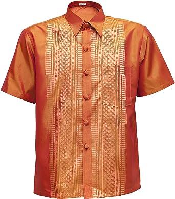Camisa de manga corta Señor – Camisa para hombre naranja naranja xx-large: Amazon.es: Ropa y accesorios