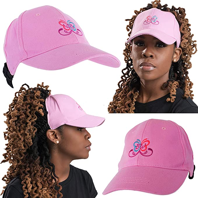 41d586e2d Beautifully Warm Satin Lined Baseball Hat for Women   Ponytail Hat ...