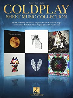 Creative Really Easy Piano Coldplay 28 Songs Sheet Music Songbook Clocks Fix You Gift Musical Instruments & Gear Instruction Books, Cds & Video