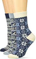 Muk Luks Women's Holiday Boot Socks