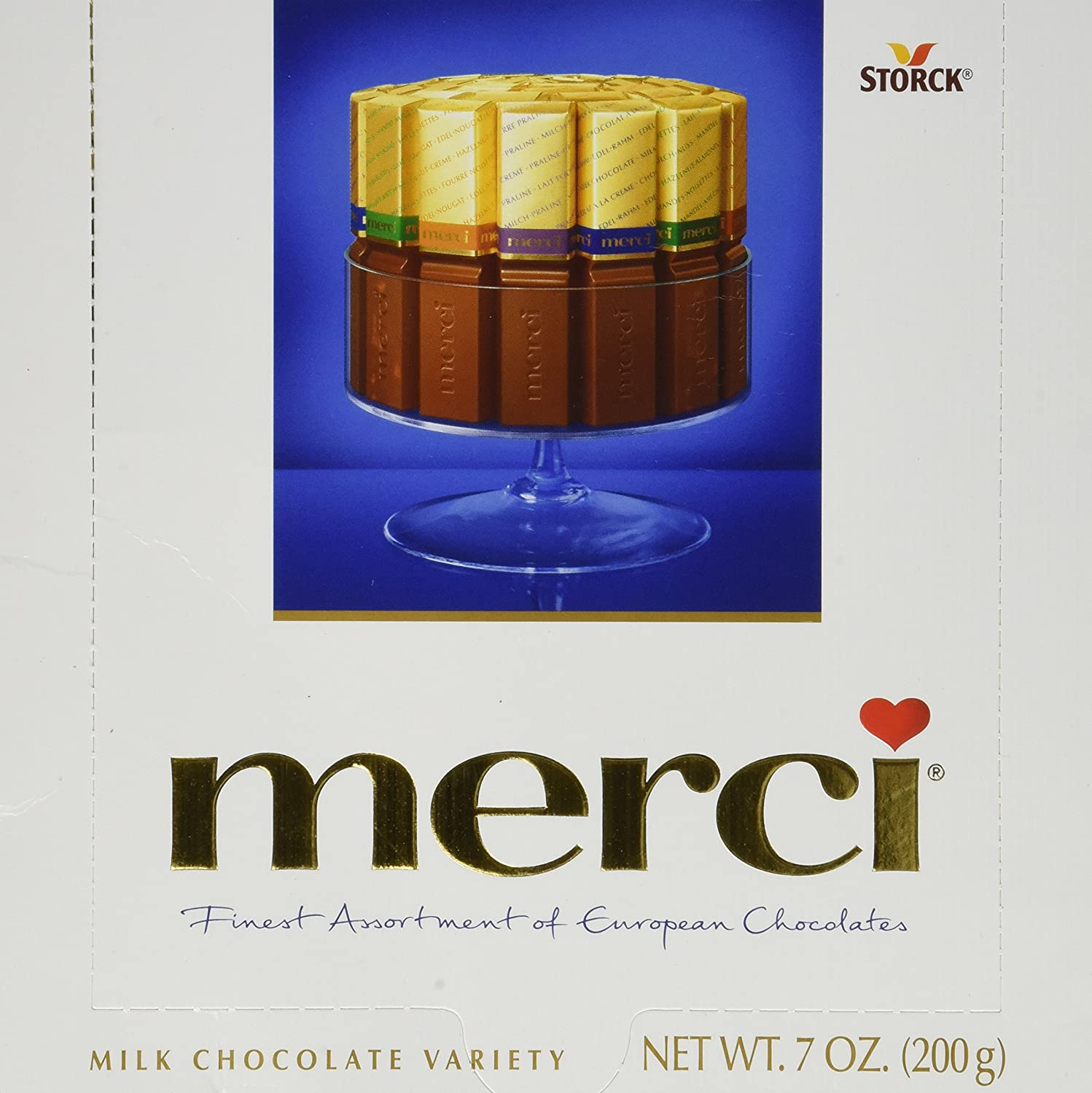 MERCI Assorted Milk Chocolates (200g , 7oz) by N/A: Amazon.ca ...