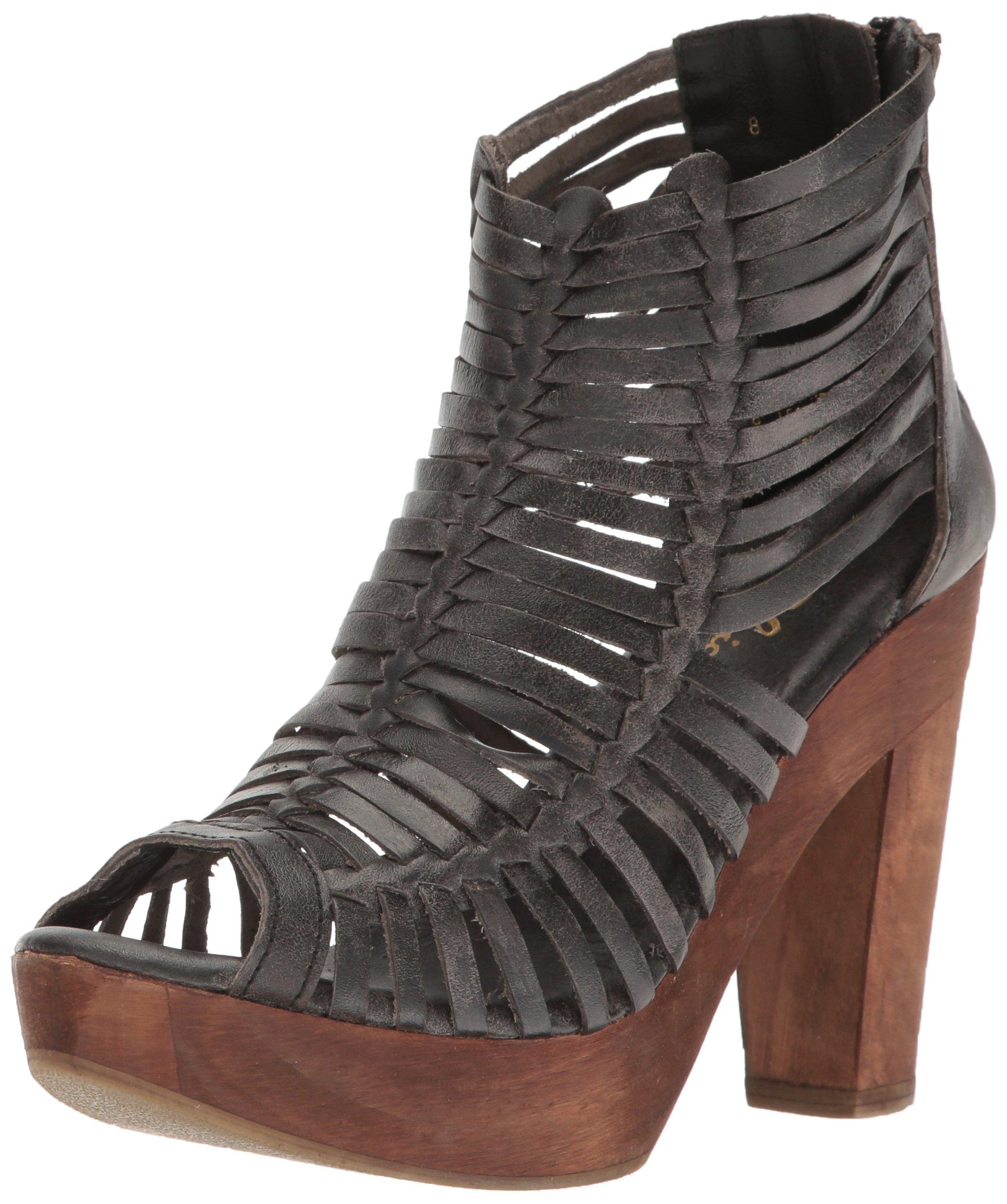 Sbicca Women's Yani Huarache Sandal, Black, 8 B US