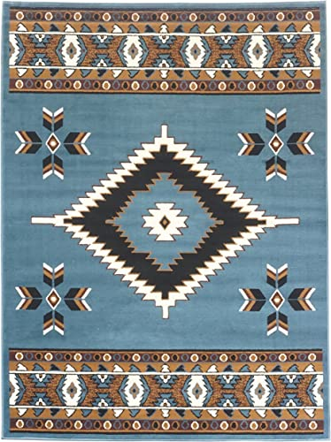 Rugs 4 Less Collection Southwest Native American Indian Area Rug Design R4L SW2