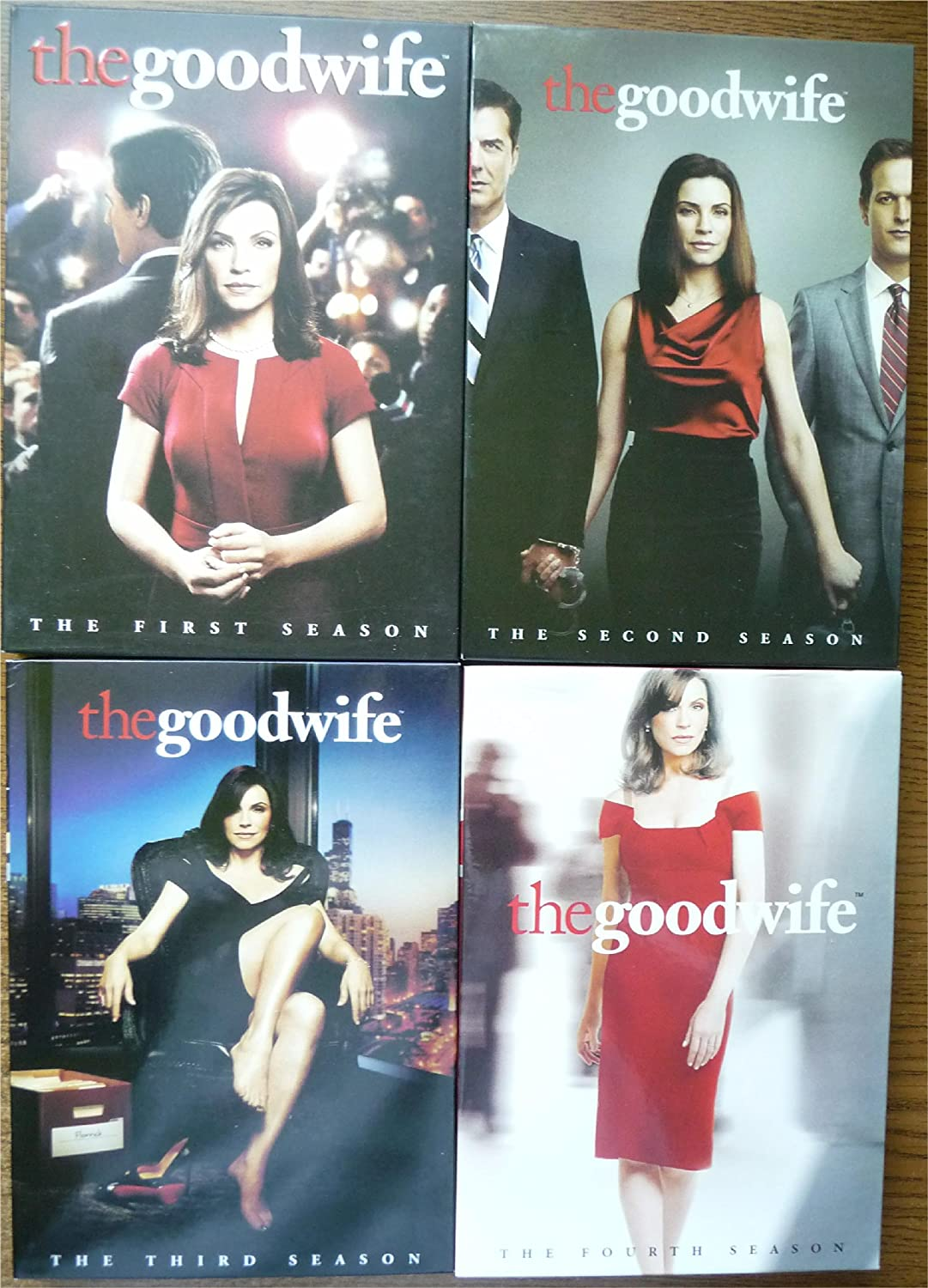 THE GOOD WIFE Complete Seasons 1-4 DVD