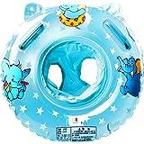 StillCool Baby Nuoto Anello Salvagente Regolabile e Gonfiabile, Anello di Nuoto per le Barche e per I Bambini, Neonati Baby (blu)