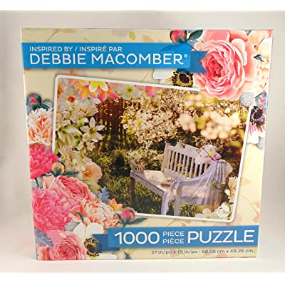 Garden Retreat by Debbie Macomber 1000 Piece Puzzle: Toys & Games