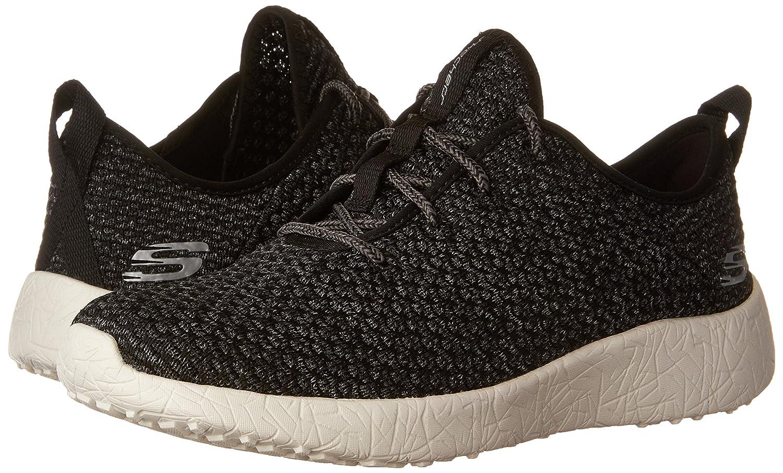 Skechers Sport Women's Burst City Scene Fashion Sneaker B01IX9JBN6 11 B(M) US|Black/White