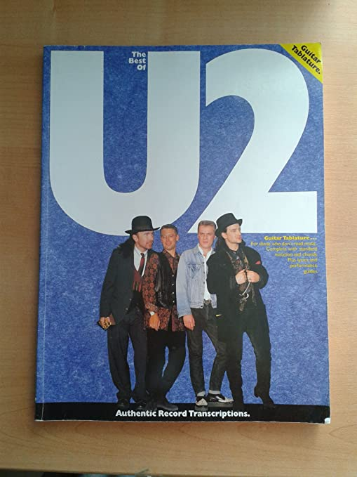 The Best Of U2. Partituras para Guitarra Bajo(Símbolos de los ...
