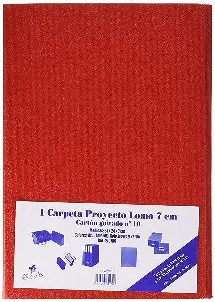 Mariola 22073 - Caja proyectos armada cartón con gomas L70 mm ...