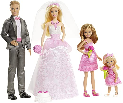 3 opinioni per Mattel Chg38- Barbie Matrimonio Set Giochi
