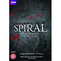 Spiral - Complete Series 1-4 [DVD]