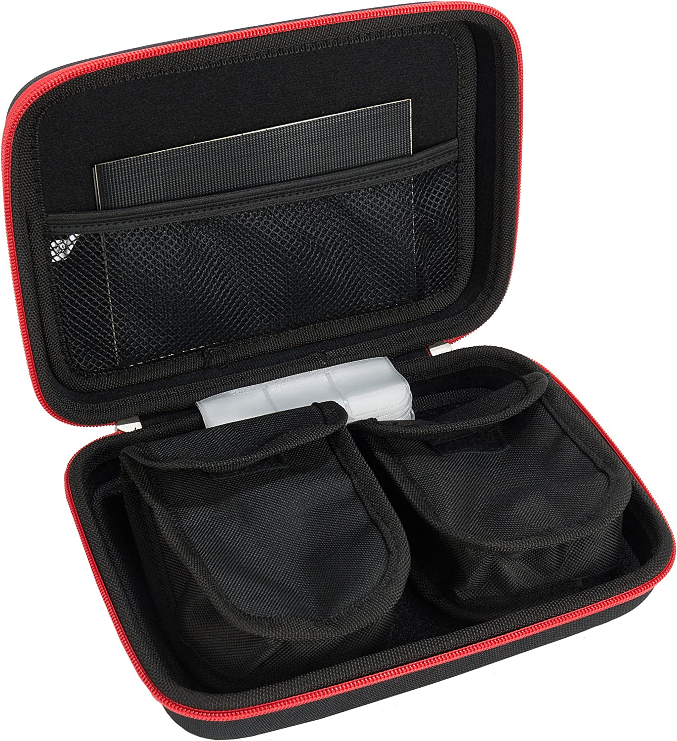 Harlin Carrying Case with Nylon Protective Hard Shell for DCIGNA Binoculars by Vangoddy Black, Grey