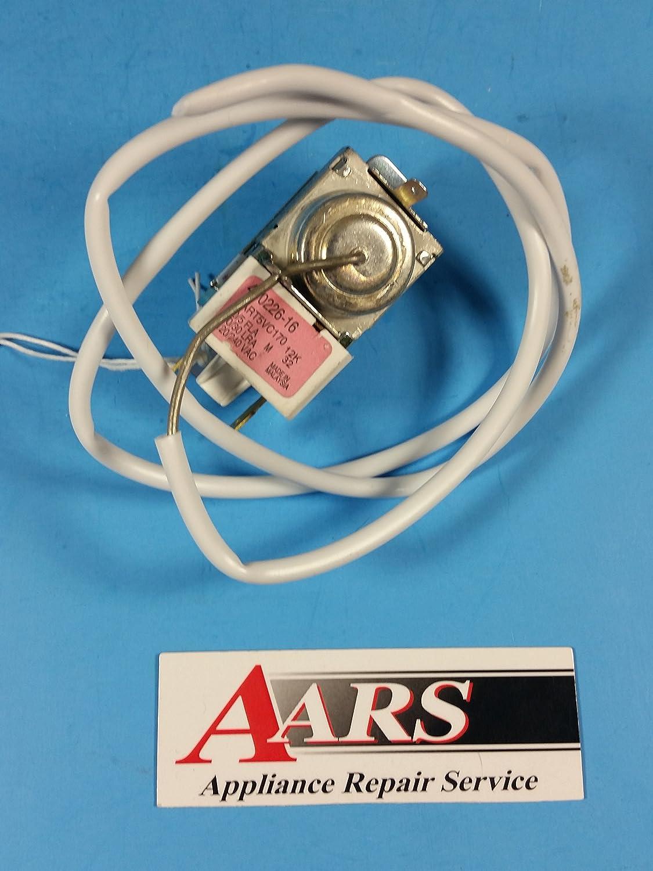 Frigidaire 241537103 Refrigerator Temperature Control Thermostat Genuine Original Equipment Manufacturer (OEM) Part
