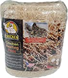 Chicken Nesting Pads with Aromatic Nest Herbs | Natural Excelsior Aspen Fiber Poultry Bedding | 13 x 13 Inches | Pack of…