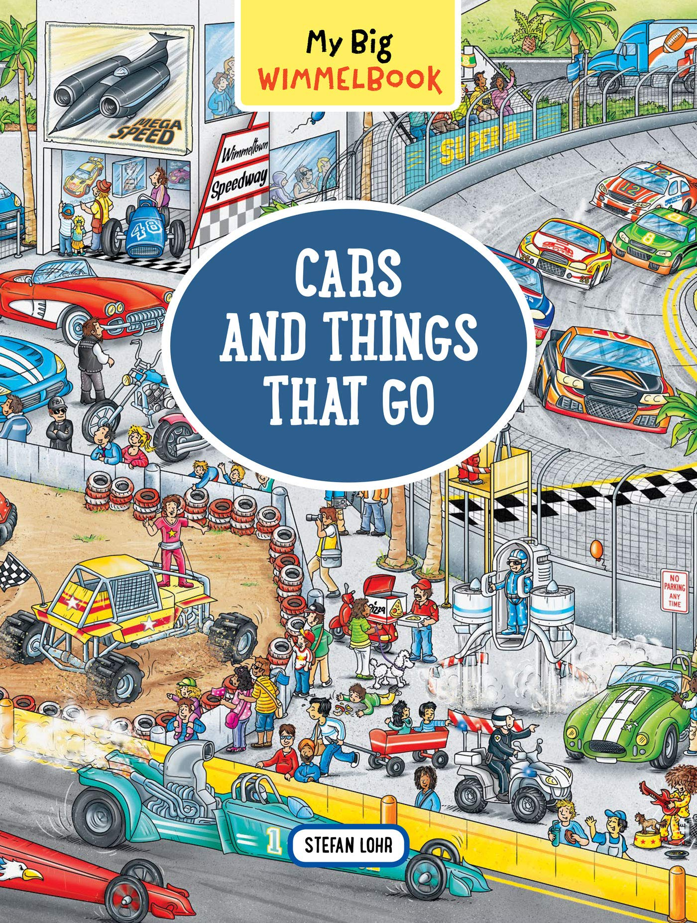 My Big Wimmelbook―Cars and Things That Go by The Experiment (Image #1)